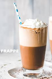 the best coffee frappe how to make