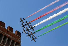 2 giugno, giro d'Italia per le Frecce Tricolori: ecco il calendario