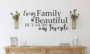 Amazon Com Wall Decal Quote Custom Personalized Wall Sticker Family Quote Sticker Create Your Own Diy Living Room Art Home Decor Handmade