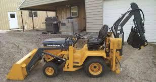 garden tractor backhoe pact