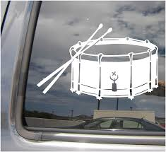 Amazon Com Right Now Decals Snare Drum Side Percussion Band Drumming Cars Trucks Moped Helmet Hard Hat Auto Automotive Craft Laptop Vinyl Decal Store Window Wall Sticker 10192 Home Kitchen