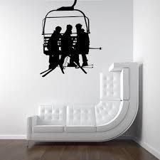 Reserve For Amy Ski Lift Seat Chair Lift By Vinylwalladornments 9 95 Ski Decor Ski Lift Lift Chairs