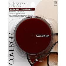 cover clean powder makeup