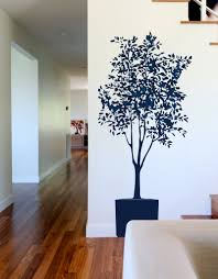 Removable Vinyl Tree Wall Decal Olive Tree Graphic Blik