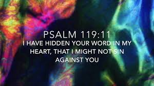 Psalm 119:11 - YouTube