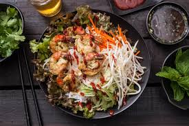 Vietnamese Grilled Shrimp Salad Recipe ...