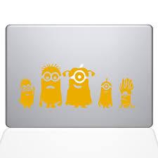Minions Family Macbook Decal The Decal Guru