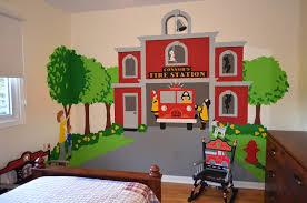 Download Free Wallpaper Perfect Wall Decor Fireman Features Kids Fireman Room Murals For Kids Kids Wall Murals