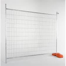 Rapidmesh 240 X 210cm Galvanised Steel Temp Fence Panel Bunnings Warehouse