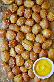 easy homemade soft pretzel bites just