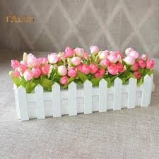Wooden Fence Flower Pot Hanging Garden Basket Planter Plant Container Home Decor With Foamed Plastic Buy At A Low Prices On Joom E Commerce Platform
