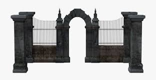 Cemetery Gates Png Free Transparent Clipart Clipartkey