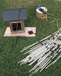 food plot electric fence kit