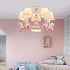 child bedroom tapered shade pendant