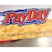 pay day candy bar peanut caramel