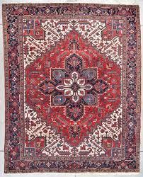 7813 heriz handmade persian rug 8 6 x