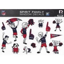 New England Patriots Family Spirit Decal Set Walmart Com Walmart Com