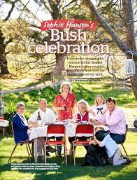 PressReader - The Australian Women's Weekly: 2017-11-30 - Sophie Hansen's  bush celebration: the food writer, blogger and farmer's family recipes