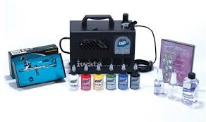 airbrush system with special effects