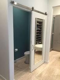 barn style doors mirror closet doors