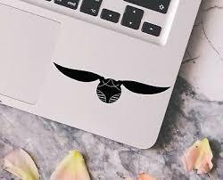 Harry Potter Always Wand Macbook Laptop Car Wall Vinyl Glitter Decal Sticker 168 Stickers Home Decor Home Garden