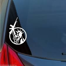 New Fashion Statue Of Liberty Ar15 Vinyl Sticker Decal 2nd Amendment 2a Constitution 1776 Wish