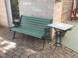 garden bench gumtree australia port
