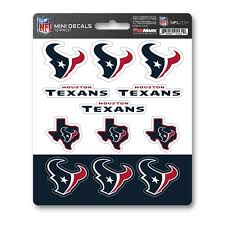 Team Promark Houston Texans 12 Pack Decal Set In The Exterior Car Accessories Department At Lowes Com