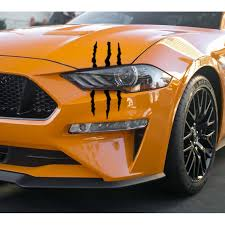 Battle Scars Decals 2018 2020 Mustang