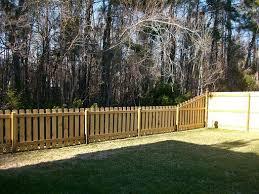Dog Ear Picket Fence In Charleston Sc Charleston Sc Fence Companies