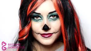 skelita calaveras makeup tutorial