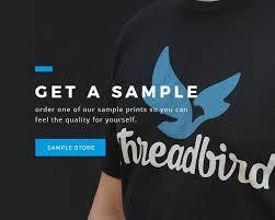 Custom T Shirt Printing High Quality Screen Printing Threadbird