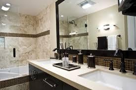 mosaic tile framed bathroom mirrors