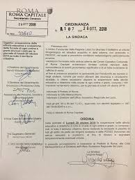 Lunedì 29 Ottobre 2018 scuole chiuse a Roma – ordinanza n.187 del ...