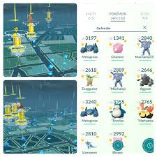 We are few, but We are strong : pokemongo