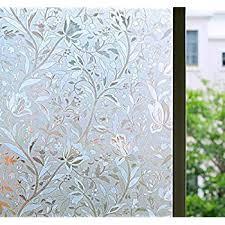 Amazon Com Bloss Window Film Decorative Window Films Window Clings Window Shades Window Decals Window Tint Privacy Windows Film 17 7 By 78 7 Inches Home Kitchen