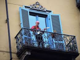 Image result for italians on balconies
