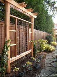 Inspire Your Garden With A Trellis Backyard Pergola Diy Backyard Backyard