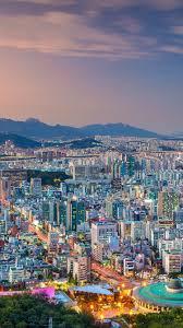 wallpaper south korea seoul city view