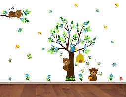 Bear Wall Decals Bear Wall Stickers Teddy Bear Decal Westickerthang