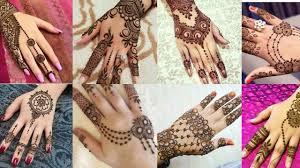 Easy Pakistani Arabic Mehndi Design