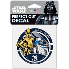 Official New York Yankees Car Decals Yankees Auto Truck Emblems Mlbshop Com