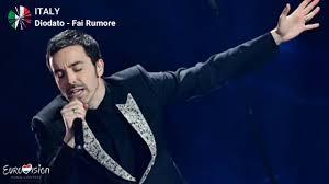 Diodato - Fai Rumore (Lyrics) Eurovision Song Contest 2020, Italy ...