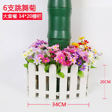 Plastic Fence Fence Courtyard White Fence Decoration Garden Flower Bed Kindergarten Christmas Fence Fence Small Fence