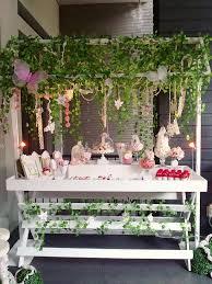 enchanted garden fairy party birthday