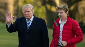 President Trump's youngest son, Barron ...