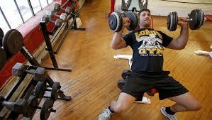 gym a refuge amid epidemic