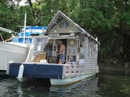homemade houseboat lake george region
