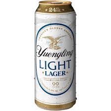 yuengling light lager 24 fl oz can