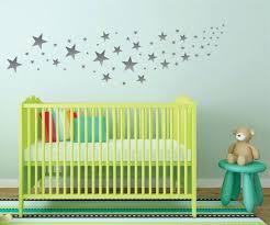 Silver Star Wall Decals Nursery Wall Decals Design By Lucylews Nursery Wall Decals Star Wall Decals Diy Wall Decals